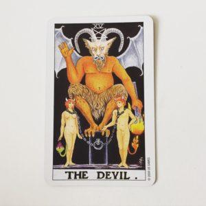 15 THE DEVIL. 悪魔