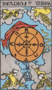 RWS_Tarot_10_Wheel_of_Fortune(R)