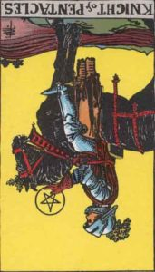 RWS_Tarot_Pentacles_Knight(R)
