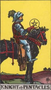 RWS_Tarot_Pentacles_Knight