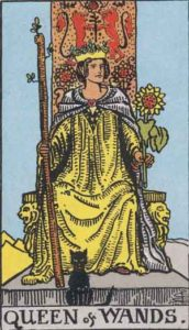 RWS_Tarot_Wands_of_queen